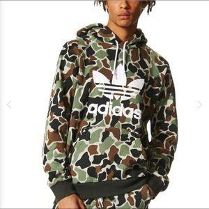 Adidas Originals Pullover Hoodie Camo/White